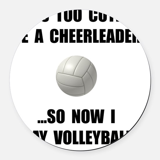 Funny Play Volleyball Car Magnets Cafepress