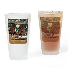 WV Derby winner DEPARTING Drinking Glass