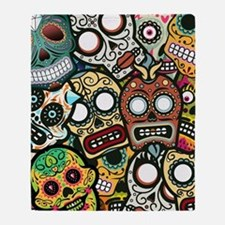 Day of the Dead Throw Blanket
