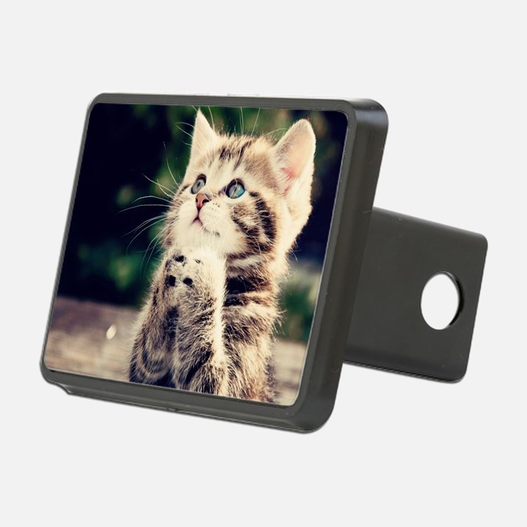 Cat Praying Hitch Cover