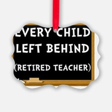 Retired Teacher Ornament