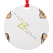 Tesla Rules Ornament