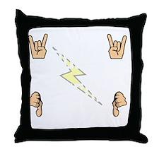 Tesla Rules Throw Pillow