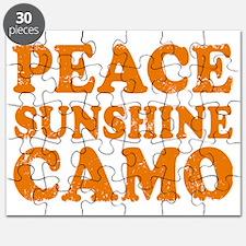 Peace Sunshine Camo Puzzle