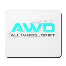 All Wheel Drift Mousepad