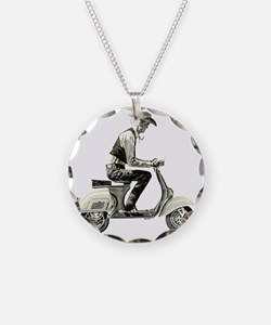 Scooter Cowboy Necklace