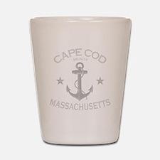 Cape Cod Beach Shot Glass