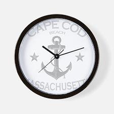 Cape Cod Beach Wall Clock