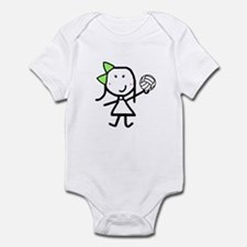 Girl & Volleyball Infant Bodysuit