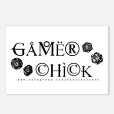 Gamer Chick Postcards (Package of 8)