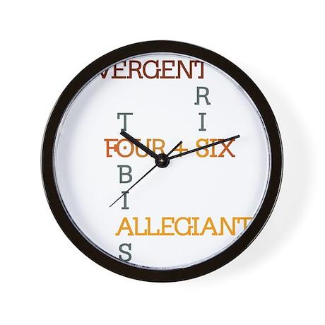 Divergent, Allegiant - Tris & Tobias Wall Clock