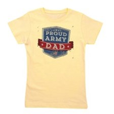 army dad Girl's Tee