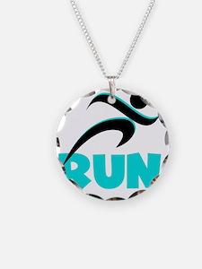 RUN Aqua Necklace