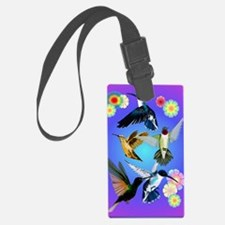 For The Love Of Hummingbirds Luggage Tag