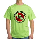 Scuba diving Green T-Shirt