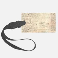 Words on a Page Luggage Tag