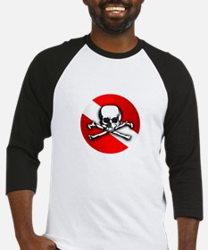 Extreme Dive (Skull) Baseball Jersey