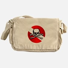Extreme Dive (Skull) Messenger Bag
