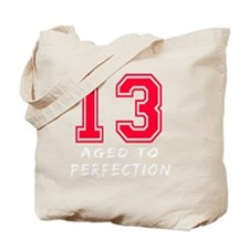 13 year aged to perfection designs Tote Bag