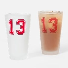 13 year aged to perfection designs Drinking Glass