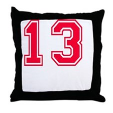 13 year aged to perfection designs Throw Pillow