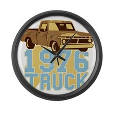 76er  Pickup Truck Large Wall Clock