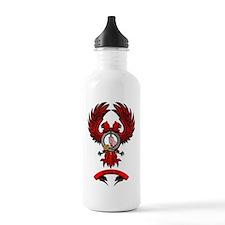 Badged Eagle Water Bottle