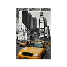Times Square NYC Rectangle Magnet