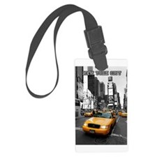 Times Square NYC Luggage Tag