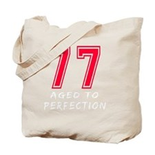 77 year aged to perfection Tote Bag