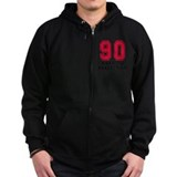 90th birthday Zip Hoodie (dark)