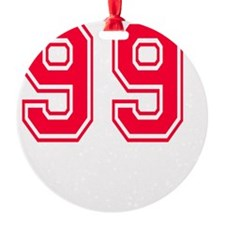 99 year aged to perfection Ornament