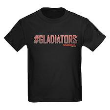 #GLADIATORS Kids Dark T-Shirt