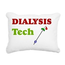 Dialysis Tech A Rectangular Canvas Pillow