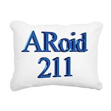ARoid 211 Rectangular Canvas Pillow