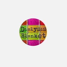 Dialysis pt blanket 2 Mini Button