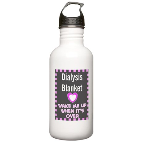 dialysis pt blanket Stainless Water Bottle 1.0L