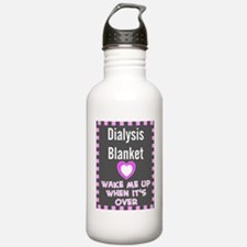 dialysis pt blanket Water Bottle