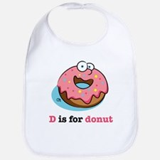 D is for Donut Bib