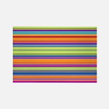Just Stripes 2 Rectangle Magnet