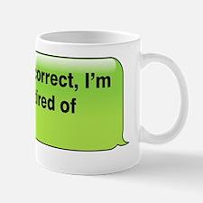 Frankly Auto-Correct Mug