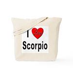 I Love Scorpio Tote Bag