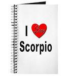 I Love Scorpio Journal