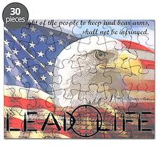 Lead Life 2nd Amendment Puzzle