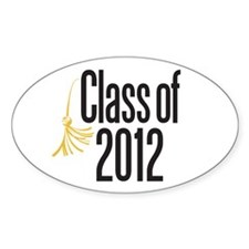 Graduation Oval Decal
