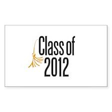 Graduation Rectangle Decal