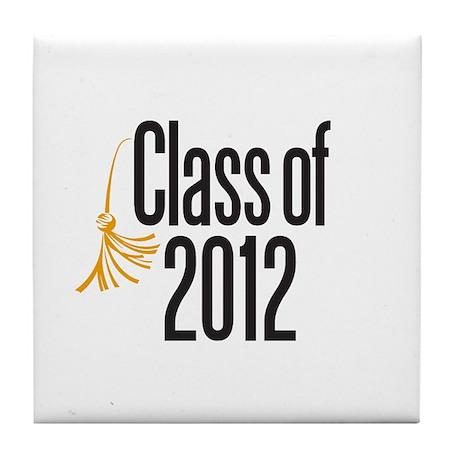 Graduation Tile Coaster