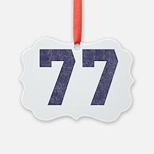 Seniors 77 Ornament