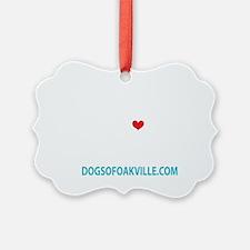 dogs of oakville logo Ornament