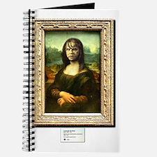 Mona Lisa demonically possessed Journal